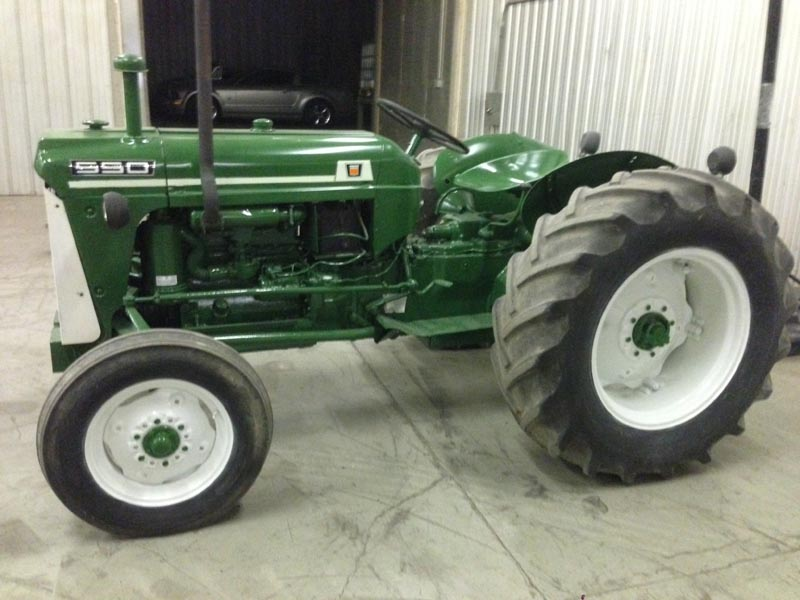 Oliver 550 Parts : Oliver tractors and parts