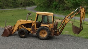 WHITE-478-BACKHOE