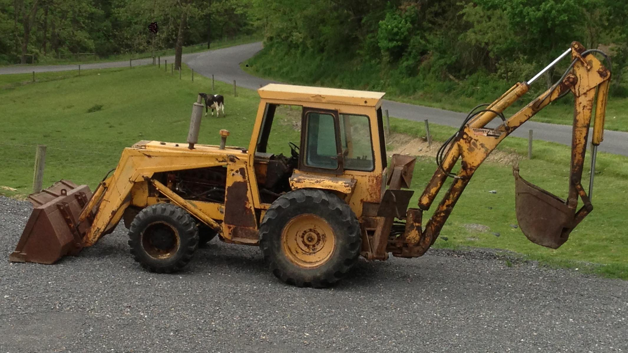 550 Oliver Tractor With Loader : Oliver industrial equipment tractors and parts